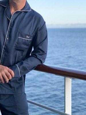 Pijama Masculino Tradição Marinho