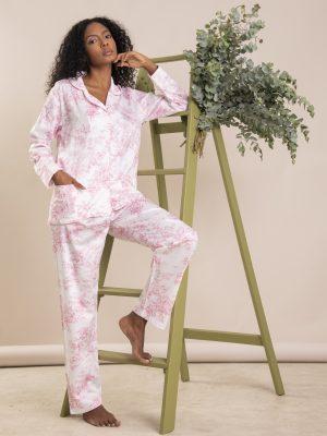 Pijama Toile de Jouy Rosa