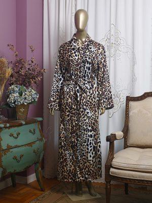 Robe Leopardo Longo