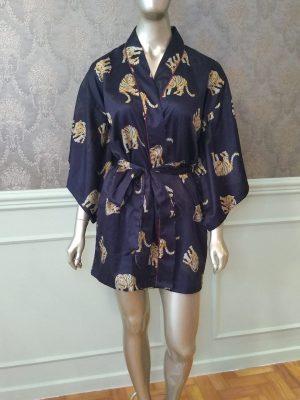 Kimono Estampa Tigre