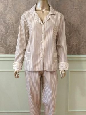 Pijama Listras & Nuvens