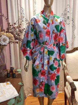 Kimono Midi Lótus Azul