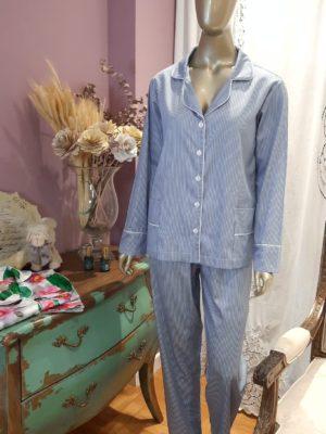 Pijama Listrado Blue Marine