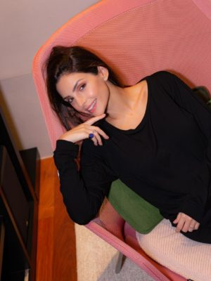 Homewear Caroline Noir