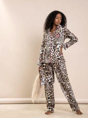 Pijama Leopardo Debrum Pink
