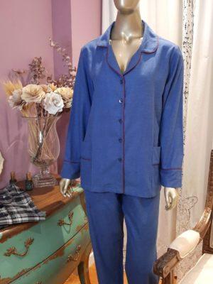 Pijama Flanelado Bleu Ela