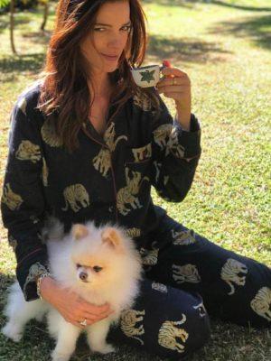 Pijama Estampa Tigre