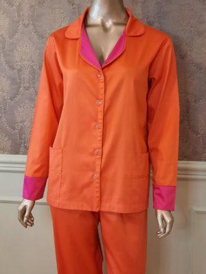 Pijama Happy Orange