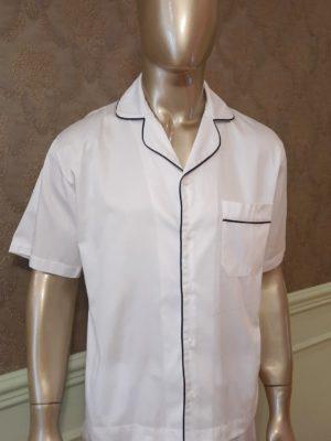 Pijama Curto Tradição Branco