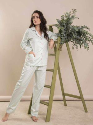 Pijama Pistache Debrum Rosa