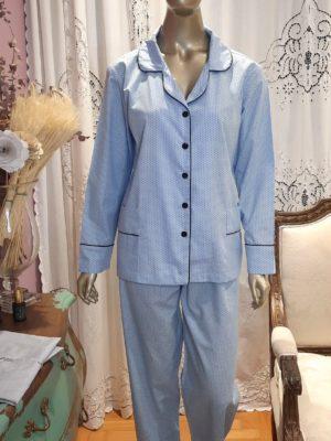 Pijama Pois Baby Blue