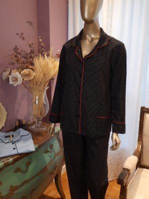 Pijama Pois Noir
