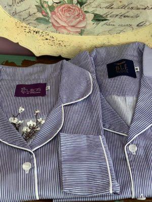 Pijama Masculino Listrado Blue Marine