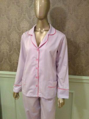 Pijama Tradição Lavender debrum Pink