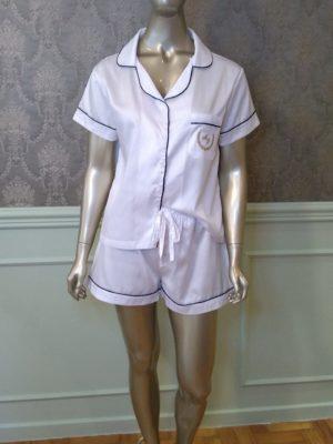 Pijama Valentine Tradição Branco