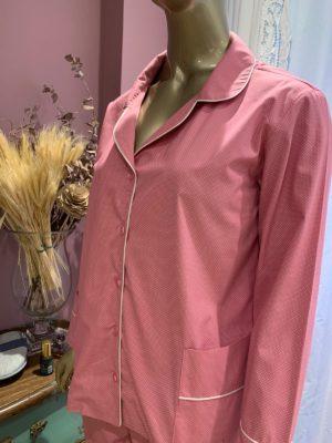 Pijama Pois Rosa